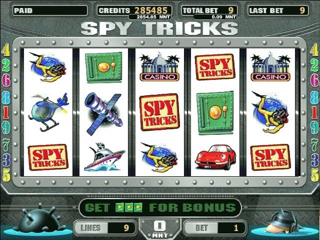 Hasil gambar untuk Slot Spy Game